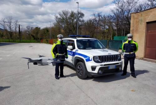 San Severino, i droni in campo per il controllo del rispetto delle restrizioni