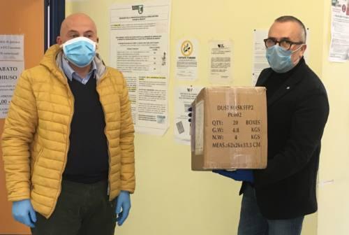 La Fondazione Andrea Bocelli dona mascherine al Covid-Hospital di Camerino