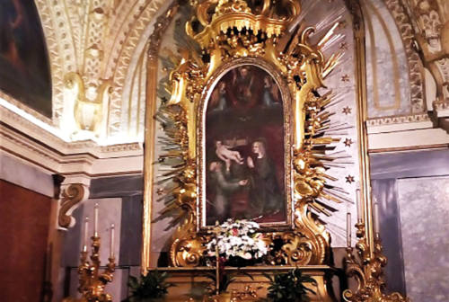 Coronavirus, Fabriano: le chiavi della città alla Madonna del Buon Gesù