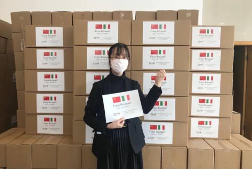 Sessantamila mascherine dalla Cina a Recanati; istituito anche il supporto psicologico in città