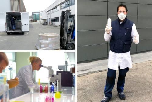 Coronavirus, Ica regala igienizzanti agli ospedali del maceratese. Paniccia: «Chi può donare deve farlo»
