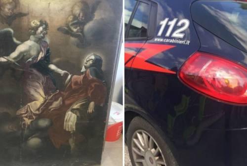 Recuperato a Roma un dipinto rubato 37 anni fa ad Amandola