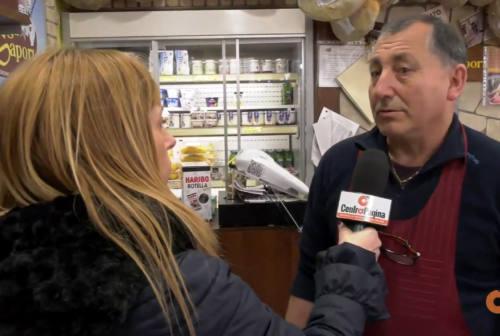 Effetto coronavirus: la paura contagia le persone e svuota i locali. Commercio in difficoltà- Video
