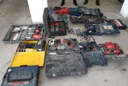 Fermignano, rubano trapani e attrezzi edili: due persone arrestate