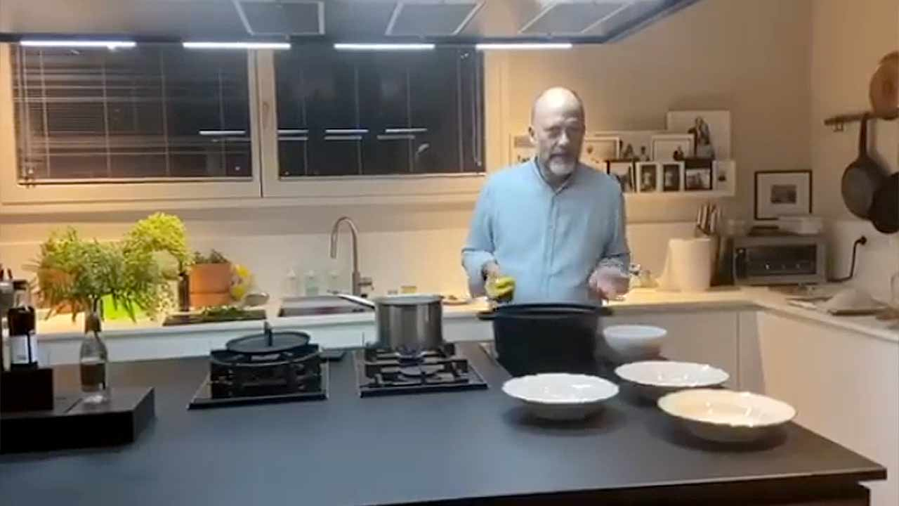 Lo chef Moreno Cedroni e le ricette dalla quarantena