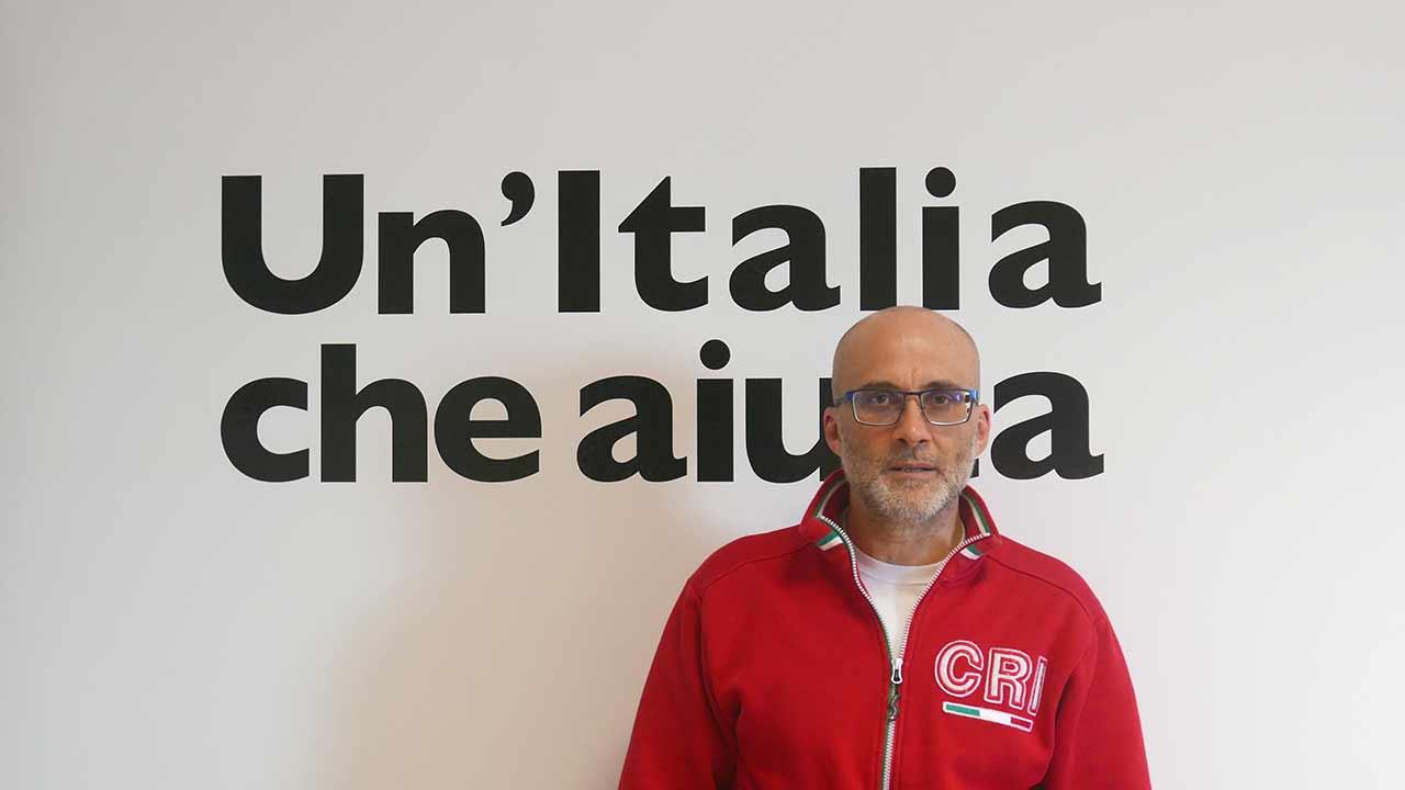 Andrea Marconi, presidente del comitato di Senigallia della Croce Rossa Italiana