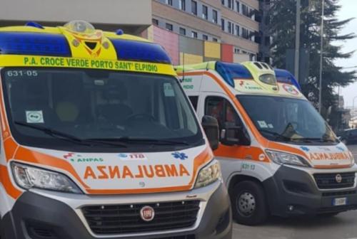 Porto Sant'Elpidio, operatori della Croce Verde in isolamento precauzionale: «Stanno bene»