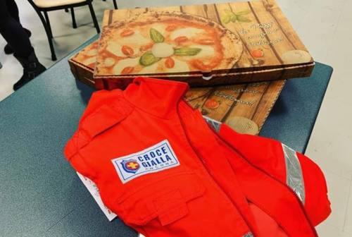 L'emergenza Coronavirus è anche solidarietà, regalate pizze alla Croce Gialla