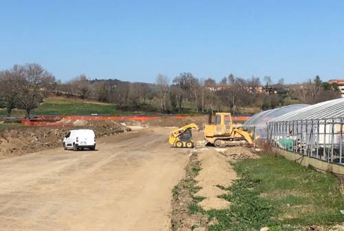 Villa Potenza, continuano i lavori per la realizzazione della nuova bretella
