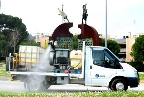 Coronavirus, a Osimo la seconda sanificazione delle strade: il programma