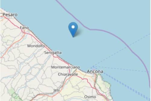 Terremoto, scossa di magnitudo 3.2 al largo di Senigallia