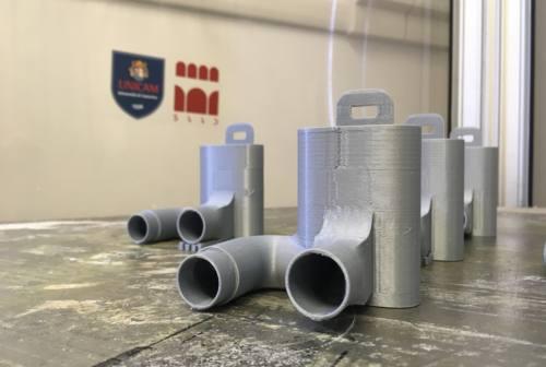 Covid-19, le stampanti 3D Unicam realizzeranno valvole per respiratori