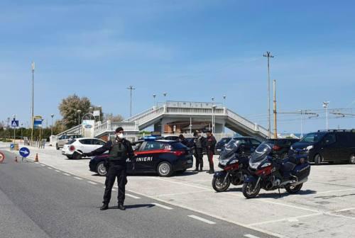 Pesaro Urbino, task force delle forze dell'ordine nel primo weekend della Fase 2