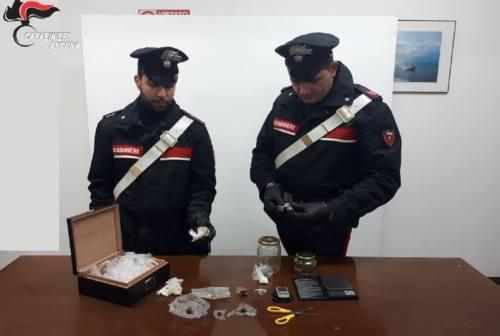 Spaccio di cocaina a Trecastelli, i carabinieri di Osimo arrestano un albanese