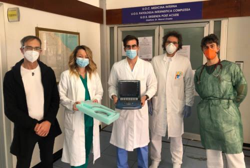 Coronavirus, Fabriano: donazione per l'Usca dell'ospedale Profili