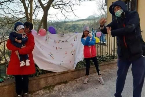 Coronavirus: a Sassoferrato si gioisce per le guarigioni di Raffaella e Gianluca