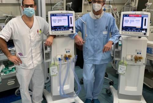 Ventilatori polmonari e fibroendoscopi per l'ospedale di Fabriano