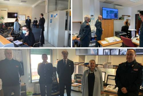 Macerata, nel giorno di Pasqua il prefetto visita le sedi operative delle forze dell'ordine