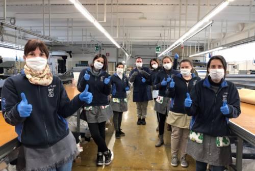 Dai reggiseni ai semilavorati per mascherine. Rosanna Taglio ha già prodotto oltre 200mila pezzi