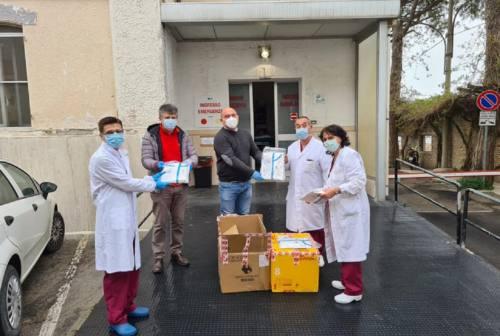 Coronavirus, a Osimo donate cento tute agli operatori sanitari