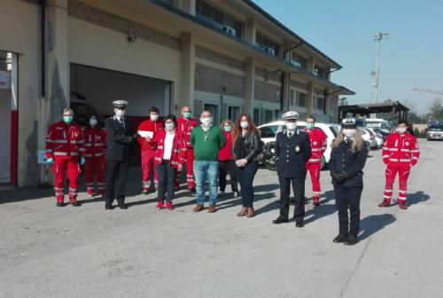 Coronavirus, la Polizia di Osimo fa una colletta per la Croce rossa