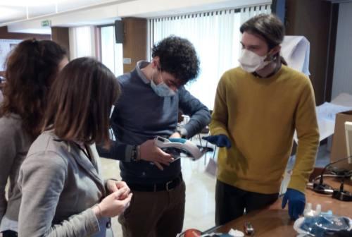Coronavirus, studenti Unicam adattano maschere di snorkeling per i pazienti Covid