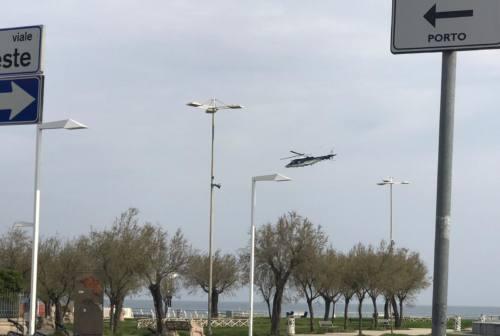 Pasqua blindata a Pesaro, le immagini dei controlli dall'elicottero – VIDEO