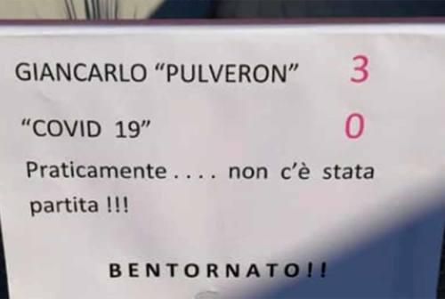 Giancarlo Pirani torna a casa: ha sconfitto il Coronavirus