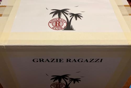 San Benedetto del Tronto, mascherine per i carabinieri dal Rotaract