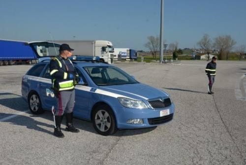 Coronavirus, controlli della Polizia: uscite autostradali passate al setaccio