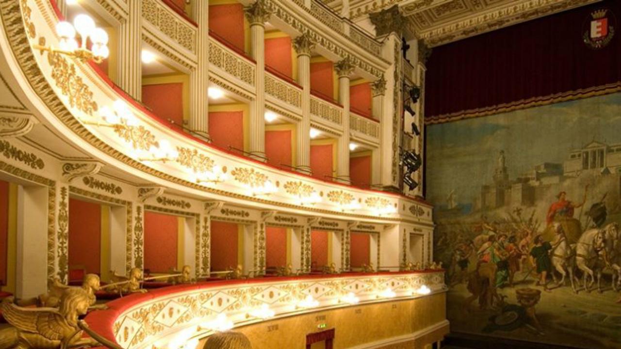 Il teatro della Fortuna a Fano