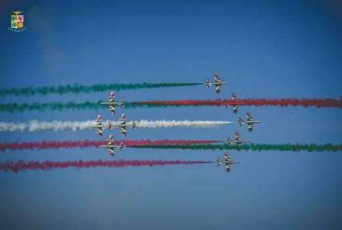 Il 29 maggio show delle Frecce Tricolori nei cieli di Loreto e Ancona