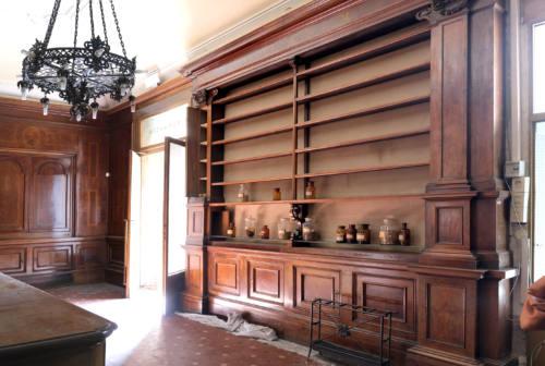 Luoghi del cuore Fai: Mancini e Di Francisca testimonial per l'Antica farmacia di Jesi
