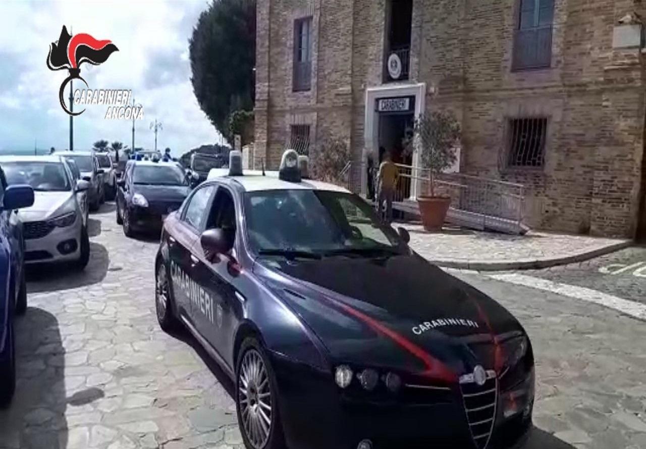 La caserma dei Carabinieri di Osimo
