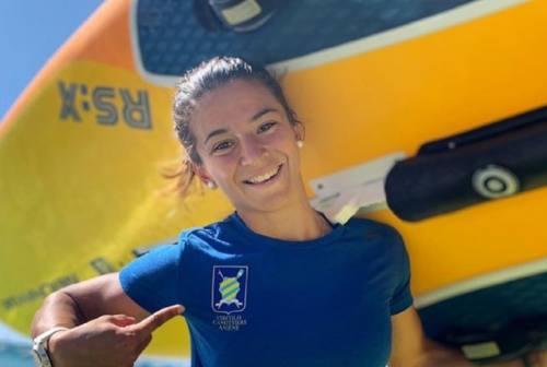 Windsurf, Giorgia Speciale riprende ad allenarsi nella sua Ancona