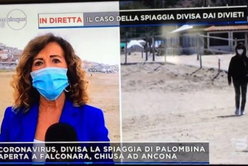Il sindaco di Ancona in video messaggio sui divieti per le spiagge: «Ho chiuso per prudenza ma su Palombina si può rivedere la misura»