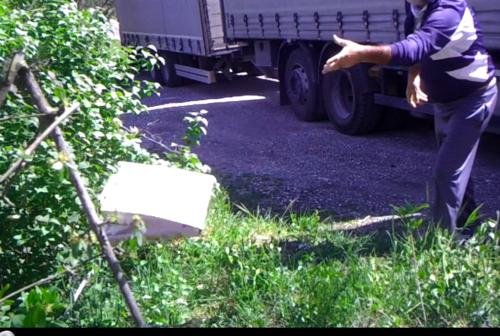 Sassoferrato: beccati i furbetti dei rifiuti, multa salata in arrivo
