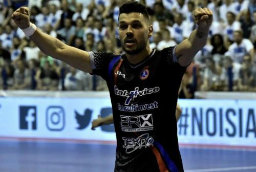 Marcelinho conferma con l'Italservice: «Grazie alla società e alla famiglia Pizza»