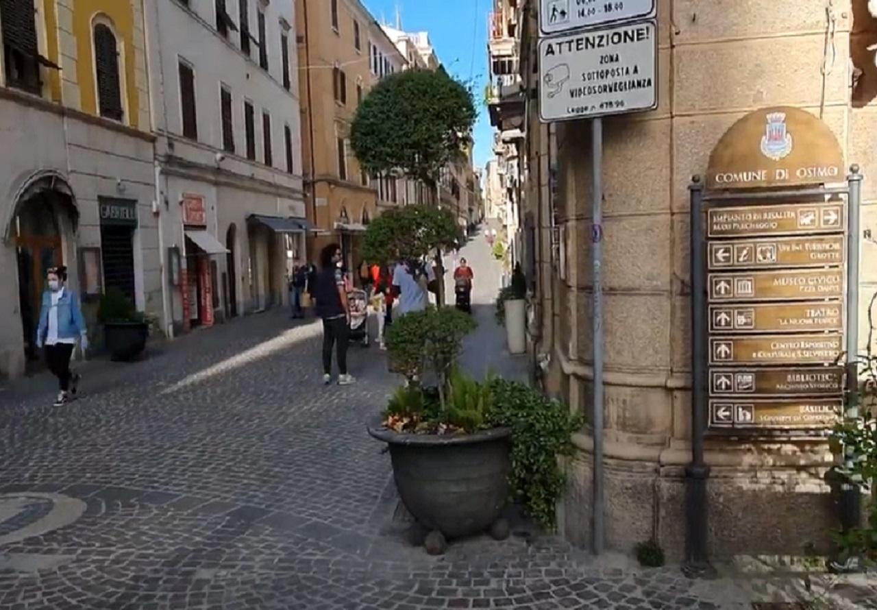 Corso Mazzini a Osimo