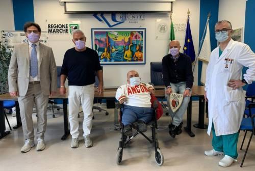 Ancona, l'ospedale di Torrette sceglie Paolino Giampaoli come testimonial
