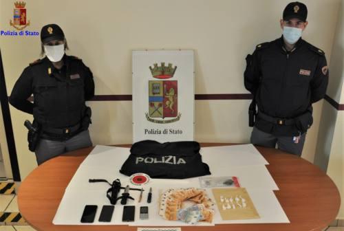 Castelfidardo, 47enne fermato con la cocaina negli slip: arrestato