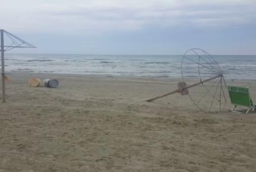 Accesso notturno in spiaggia, prime multe a Senigallia