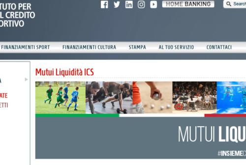L'Istituto per il Credito Sportivo presta soldi alle società. È davvero ciò che serve?