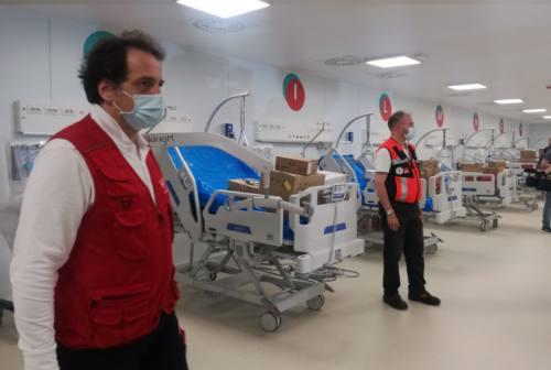 Ipotesi riapertura Covid hospital di Civitanova Marche, scoppia la polemica. Sindacati contro