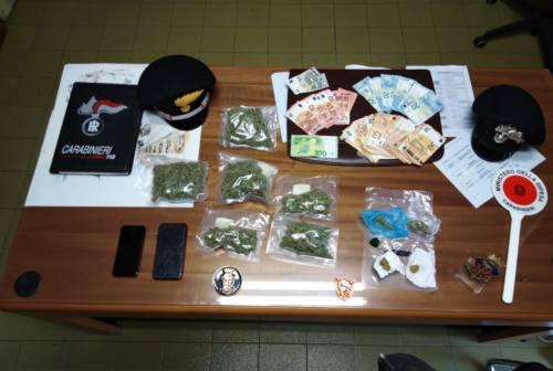 Montelupone, marijuana e soldi nascosti nei pantaloni: un arresto e due denunce