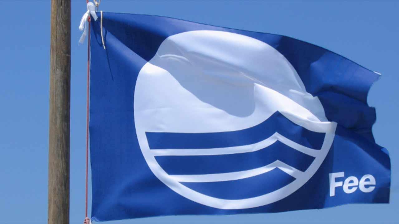 La bandiera blu d'Europa