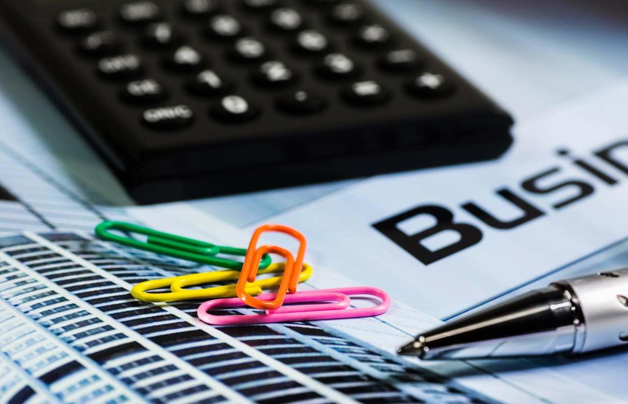 calcolatrice, business, banca