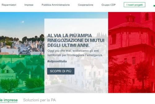 Jesi in copertina, piazza Federico II apre il sito della Cassa Depositi e Prestiti