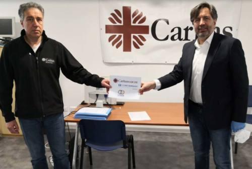 Coronavirus, da Confcooperative Marche 45 mila euro alla Caritas