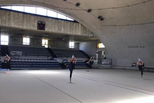 """Fabriano: ricominciano ad allenarsi le campionesse della """"ritmica"""""""